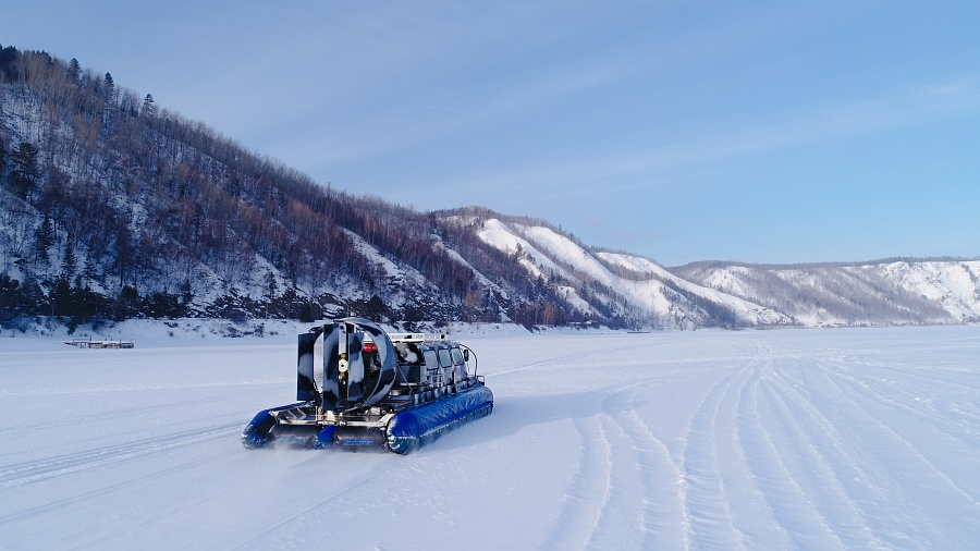 Tour to Baikal Winter 2020 Winter's Tale